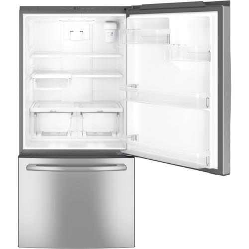 GE Appliances - GE® ENERGY STAR® 24.8 Cu. Ft. Bottom-Freezer Drawer Refrigerator