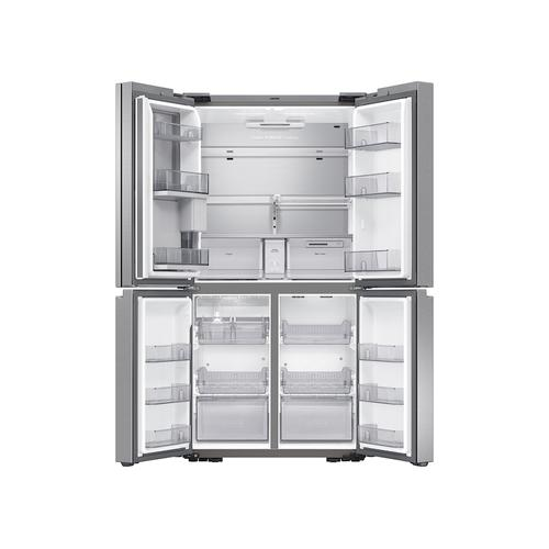 23 cu. ft. Smart Counter Depth 4-Door Flex™ refrigerator with Beverage Center and Dual Ice Maker in Stainless Steel