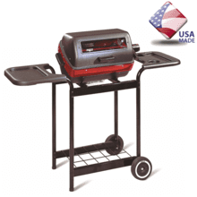 See Details - 9350W Deluxe Electric Cart Grill