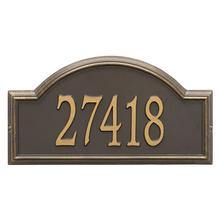 Providence Arch - Estate Wall - One Line - Bronze/Gold