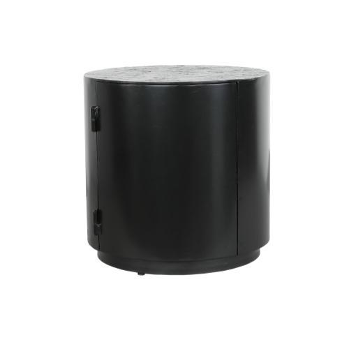 "Mesa 18"" Round Storage Side Table"