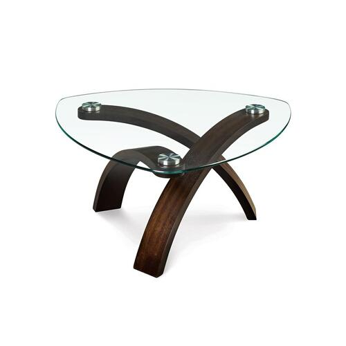 Magnussen Home - Pie Shaped Cocktail Table
