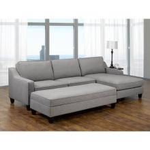 Mateo Sofa Left Loveseat, Grey