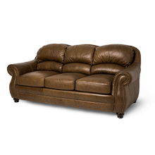 Aston Leather StandardSofa in Bark Espresso