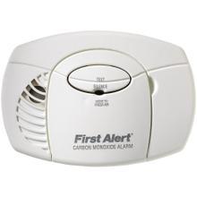 Battery-Powered Carbon Monoxide Alarm (No Digital Display)