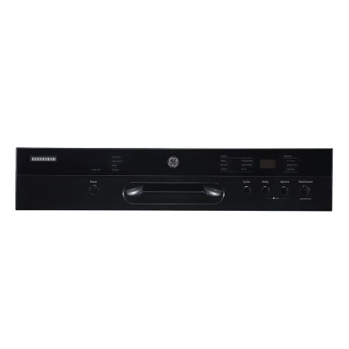 """GE Appliances Canada - GE 24"""" Built-In Front Control Dishwasher with Stainless Steel Tall Tub Black - GBF532SGPBB"""