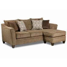 LANE 6485-03SC Albany Chestnut Sofa Chaise
