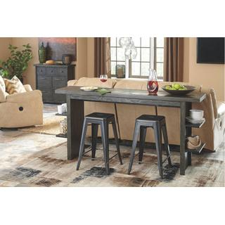 See Details - Long Counter Table plus 3 Stools