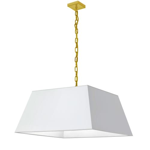 Product Image - 1lt Milano Large Pendant, Wht Shade, Agb