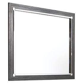 Lodanna Bedroom Mirror Gray