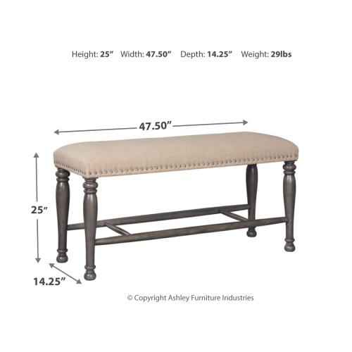 Audberry Counter Height Dining Room Bench