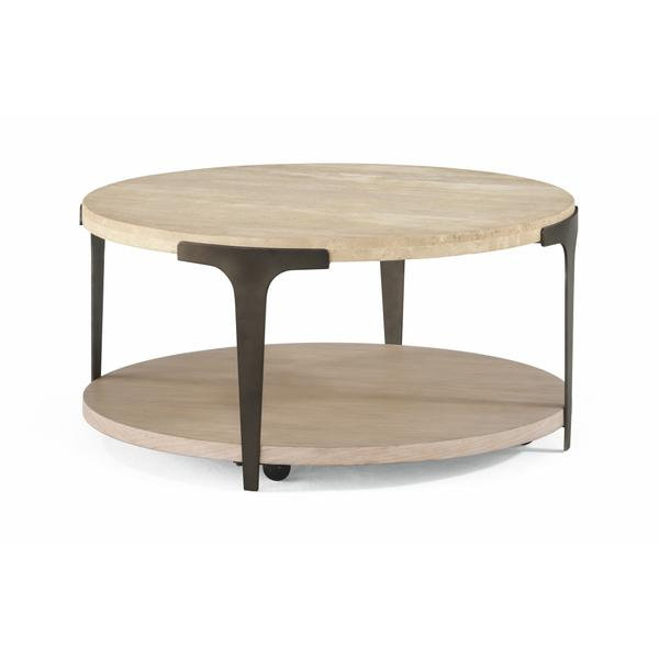 See Details - Omni Round Coffee Table with Casters