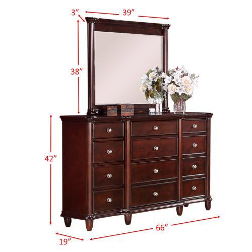 Hamilton Dresser & Mirror Set