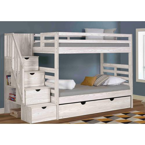 Manchester Bunk With Staircase With Trundle
