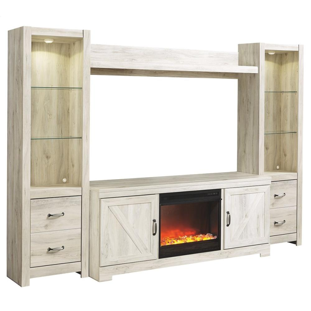 See Details - Bellaby 4-piece Entertainment Center With Fireplace