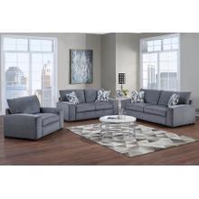 See Details - Clayton Gray Sofa, Loveseat & Chair, U5345