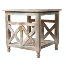 View Product - Lamp Table, Available in Recycled Finish Only.