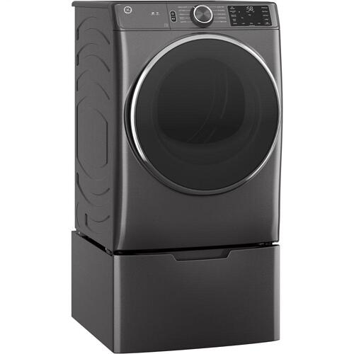 GE® 7.8 cu. ft. Capacity Smart Front Load Electric Dryer
