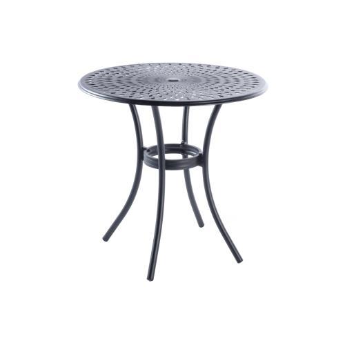 "Kingston Weave 42"" Round Bar Table w/umbrella hole"
