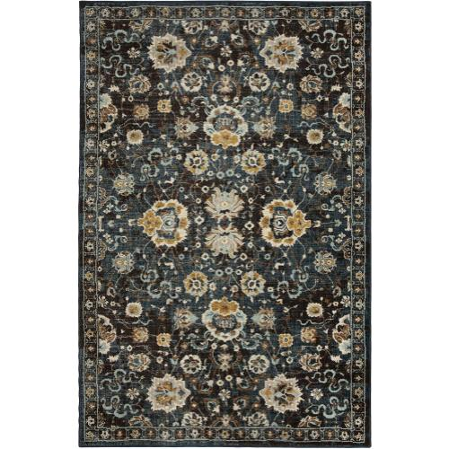 Touchstone Deveron Blue Teal 8'x11'