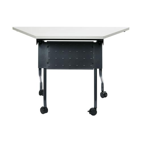 "46.5"" Wide Trapezoid Table"