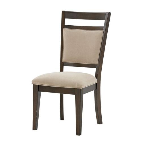 Gallery - Avion 2-Pack Upholstered Side Chairs, Cherry Brown