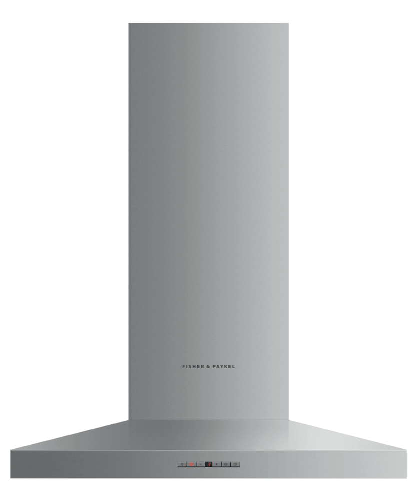"""Fisher & PaykelWall Range Hood, 30"""", Pyramid Chimney"""