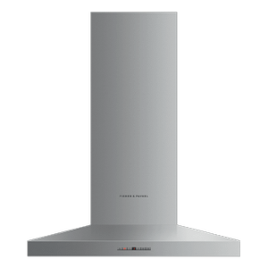"Fisher & PaykelWall Range Hood, 30"", Pyramid Chimney"