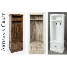 Artisan's Craft Hall Tree - Dakota Oak or Washed Grey