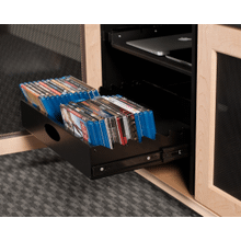 See Details - Synergy Media Tray 2, Black