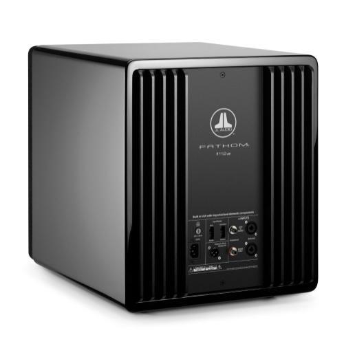 JL Audio - 12-inch (300 mm) Powered Subwoofer, Black Gloss Finish