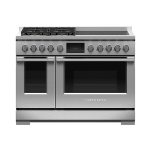 """Dual Fuel Range, 48"""", 4 Burners, 4 Induction Zones, Self-cleaning Product Image"""