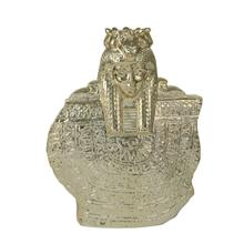 """View Product - Ceramic 14"""" Table Top Sculpture, Gold"""