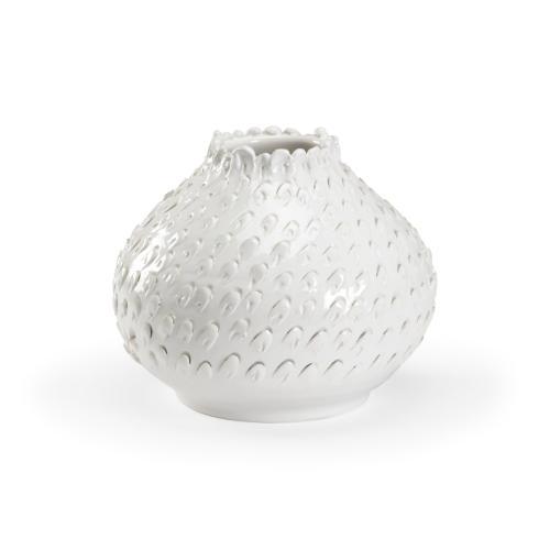 Atrani Vase - White