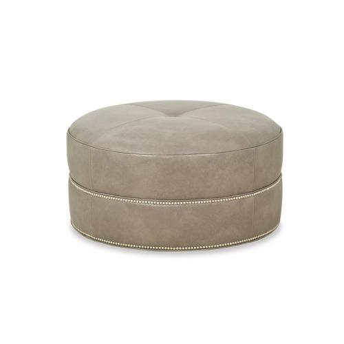 Taylor King - Taylor Made Round Ottoman