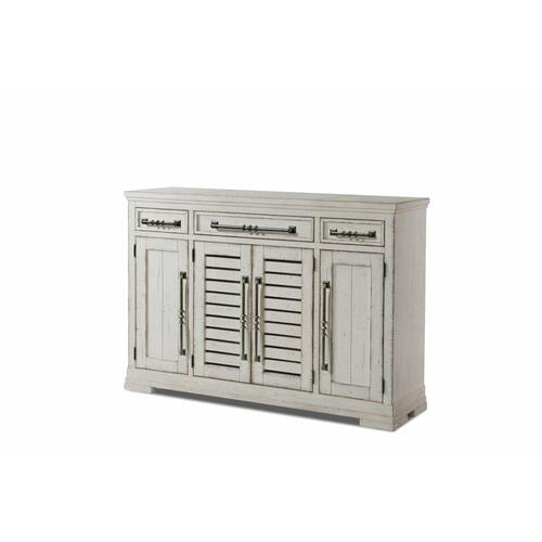 Product Image - Trisha Yearwood Coming Home Hospitality Credenza in Cool White Finish
