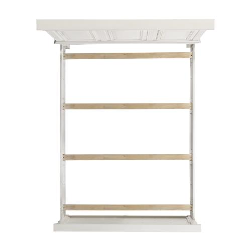 Calloway Queen Panel Bed in White