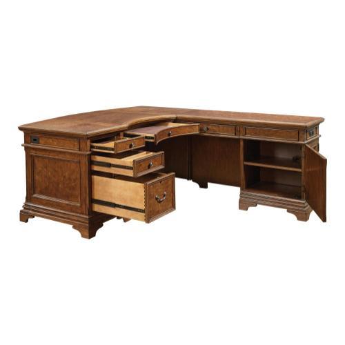 """66"""" Curved Desk for Return"""