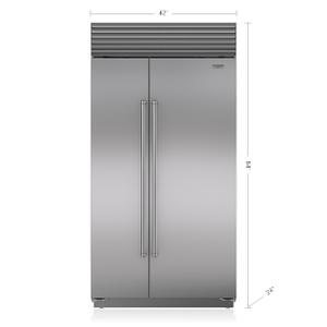 "Subzero42"" Classic Side-by-Side Refrigerator/Freezer"