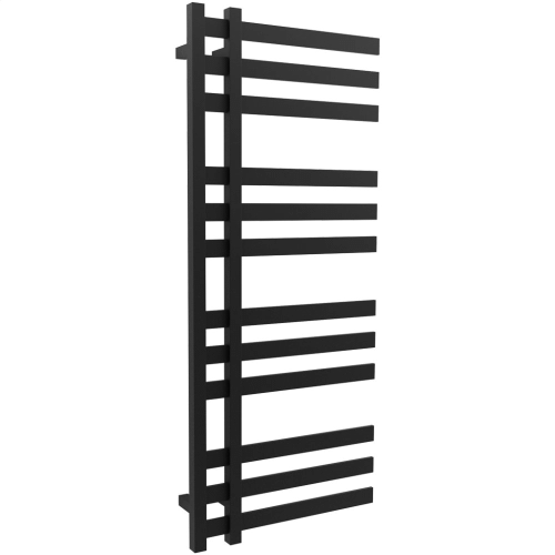 "Lioni 48"" x 20"" Towel Warmer Hydronic Black"
