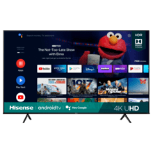 "75"" Class- A6G Series - 4K UHD Hisense Android Smart TV (2021)"