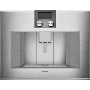 Gaggenau400 Series Fully Automatic Coffee Machine Stainless Steel-backed Full Glass Door
