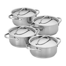 Demeyere RESTO 4-pc Stainless Steel Mini Dutch Oven Set
