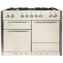 AGA Mercury 48 Dual Fuel Ivory with Chrome trim