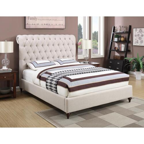 Coaster - Devon Beige Cal King Bed