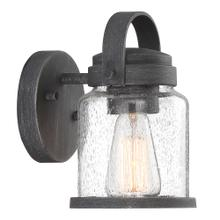 """9"""" H Wall Lantern in Weathered Pewter"""