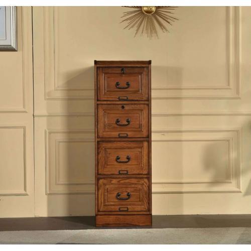 Tennessee Enterprises - 4 Drawer File Cabinet