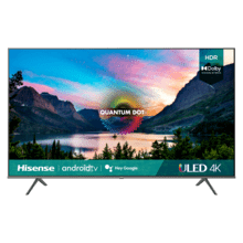 "75"" Class- U6G Series - 4K ULED Hisense Android Smart TV (2021)"