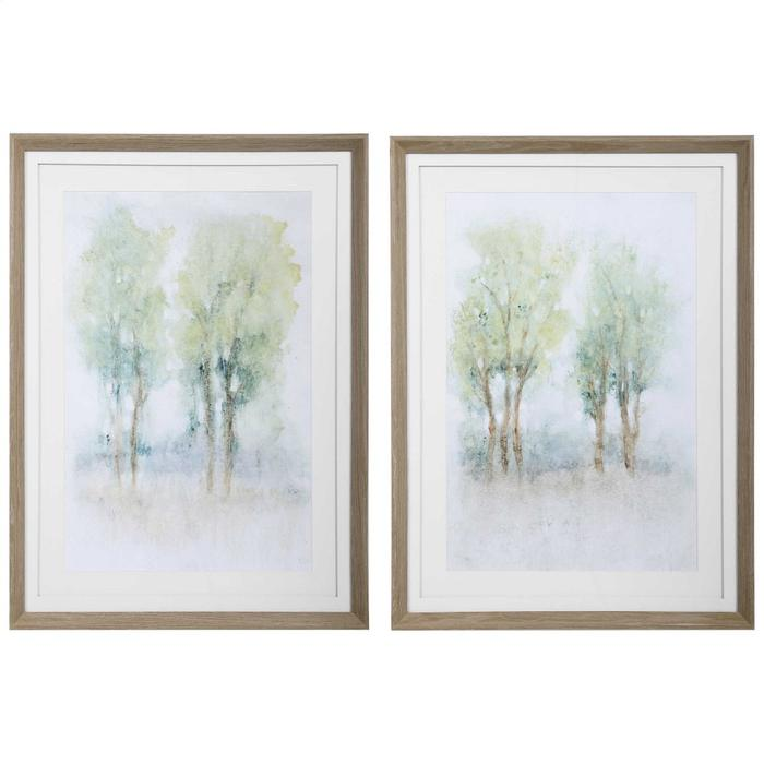 Uttermost - Meadow View Framed Prints, S/2
