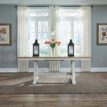 See Details - Trestle Table